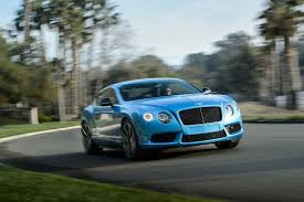 bentley blue 2014 bentley continental gt v8 s first test motor trend