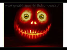 Free Ecards Halloween Animated by Pumpkin Halloween Birthday Song Youtube