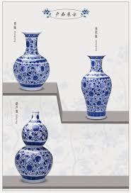 247 large jingdezhen ceramics glaze blue and white porcelain
