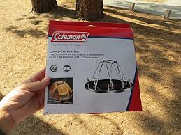 Camp Toaster Coleman Camp Stove Toaster Reviews Trailspace Com
