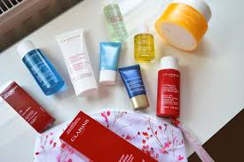 clarins haul topdraw fashion clarins haul