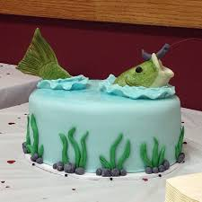 best 25 fish grooms cake ideas on pinterest bass fish cake
