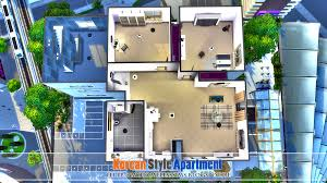 the sims 4 request korean style apartment homeless sims