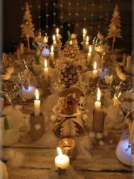 chic eco friendly christmas table decorations