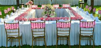 Chair Decorations How To Decorate A Lawn Or Park For A Wedding Ceremony Event