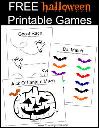 free halloween printable games roaming rosie