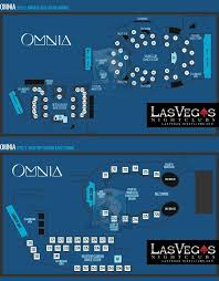 omnia nightclub las vegas las vegas night club at caesars view omnia floorplan