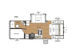 Salem Rv Floor Plans by 2017 Forest River Rv Salem Hemisphere Hyper Lyte 27bh Sturgeon
