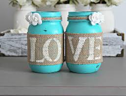 turquoise wedding rustic turquoise s day gift idea jarful house