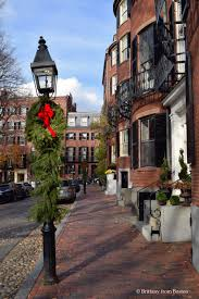 Boston City Map Tourist by Christmas Walking Tour Of Beacon Hill Brittany From Boston