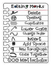 Editing And Proofreading Worksheets Editing And Proofreading Marks Poster And Worksheets Tpt