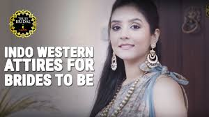 for brides fashion trends 2016 indo western attires for brides to be