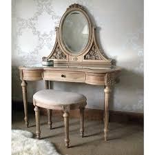 Rustic Vanity Table Antoinette Carved Oak Dressing Table Dressing Dressing