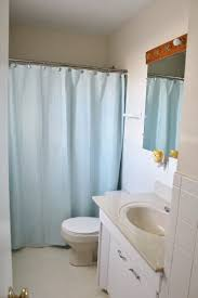 dated window treatments bathroom makeover ideas