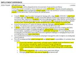 Pmo Cv Resume Sample by How To Highlight Skills In A Project Management Cv Pm Blog