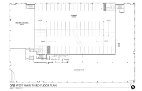floor plans one west main