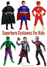 super hero costume ideas for kids fleece fun