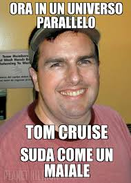 Tom Cruise Meme - tom cruise fat weknowmemes generator