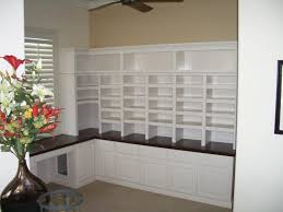 White Home Office Desks Custom Home Office Cabinets Cabinet Wholesalers