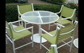 Patio Furniture Sling Replacement Patio Furniture Sling Back Chairs Outdoorlivingdecor