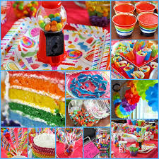 Candy Themed Party Decorations Candy Theme Party Recap And Pics U2022 My Serendipity Life