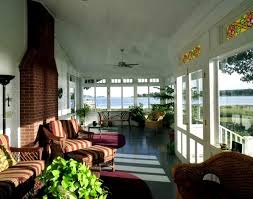glass enclosed porch porch traditional with enclosed porch river