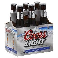 does coors light have yeast coors light 6 pack btl oak liquor cabinet austin tx order