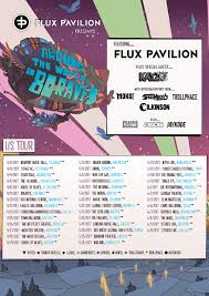 flux pavilion announces around the world in 80 raves world tour