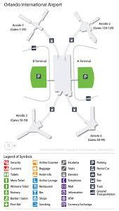 mco terminal map mco airport car rentals airportrentalcars com