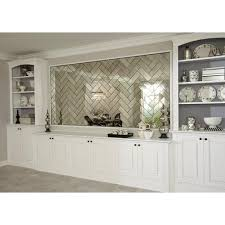 floor and decor tile antique mirror glass tile 4in x 12in 100235050
