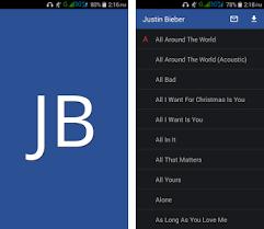 justin bieber lyrics apk download latest version sgb justinbieber