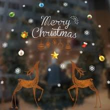 Christmas Decoration For Glass Door by Online Get Cheap Glass Panelled Door Aliexpress Com Alibaba Group