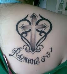 tribal cross tattoos designs