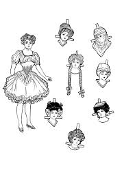 vintage kids printable christmas paper doll the graphics fairy