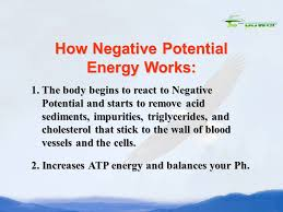 How To Remove Negative Energy New Negative Potential Body Energizer Negative Potential Energy