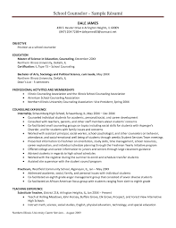 guidance counselor resume bunch ideas of school counselor resume sles great adorable