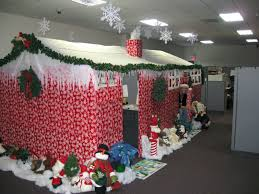 simple cubicle decorating ideas for christmas decoration themes