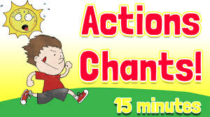 Resume Verb Action Verbs Chants And Songs Collection By Elf Kids Videos Youtube