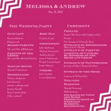 sle of wedding reception program ceremony program 300x300 jpg