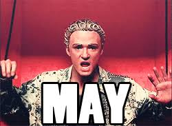 Justin Timberlake May Meme - justin timberlake s it s gonna be may meme celebuzz
