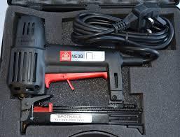 Electric Upholstery Staple Gun Series Electric Hand Stapler Maestri Me3g 71