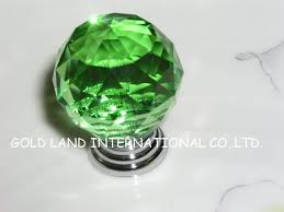 Decorative Dresser Knobs Modern Fashion Square Gems Crystal Knobs And Handles For Cabinets