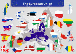 Countries Of The World Flags The European Union Map And All The Countries Flags Of The Member
