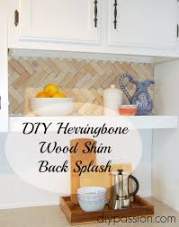 Easy Diy Kitchen Backsplash by Easy And Inexpensive Back Splash Ideas