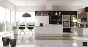 deco cuisine noir et blanc stunning deco cuisine bois et blanc ideas design trends 2017