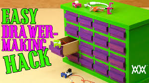 Simple Plans For Toy Box by There U0027s A Trick For Making All The Drawers In This Small Parts