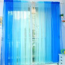Ombre Sheer Curtains Threshold Blue Ombre Curtains Blue Ombre Curtains Target Gradient