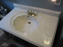 How To Change A Bathroom Faucet How To Remove A Countertop From A Vanity Bathroom Misadventures