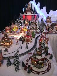mini lights for christmas village 480 best christmas village ideas images on pinterest christmas