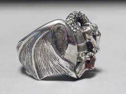 big silver rings images Big silver dragon ring by emmy mackenzie jpg